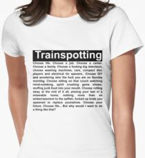 Trainspotting Women's Fitted T-Shirt
