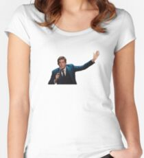 John Mulaney Fitted Scoop T-Shirt