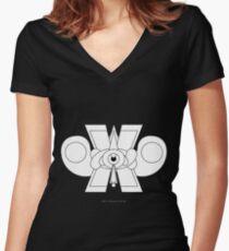 Ollin del Mañana, Pero Ahora Women's Fitted V-Neck T-Shirt