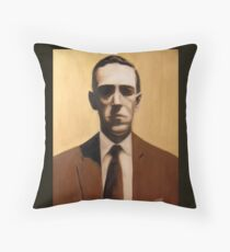 HP Lovecraft Throw Pillow