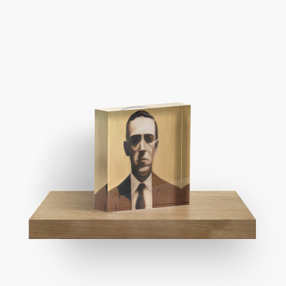 HP Lovecraft Acrylic Block