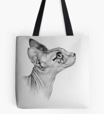 Portrait of Willy as Ancient Deity Tote Bag