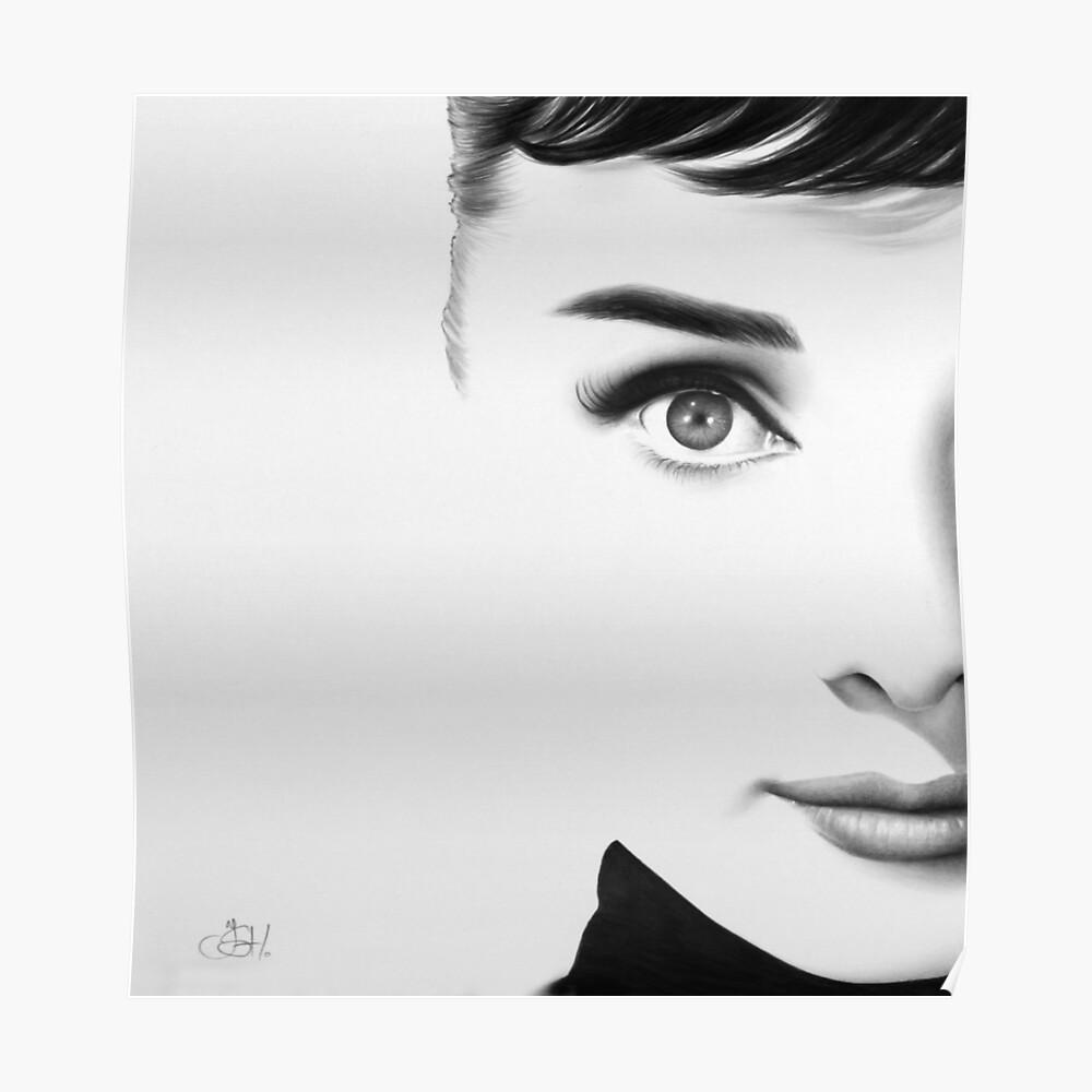 The Half Series. Audrey Hepburn Poster