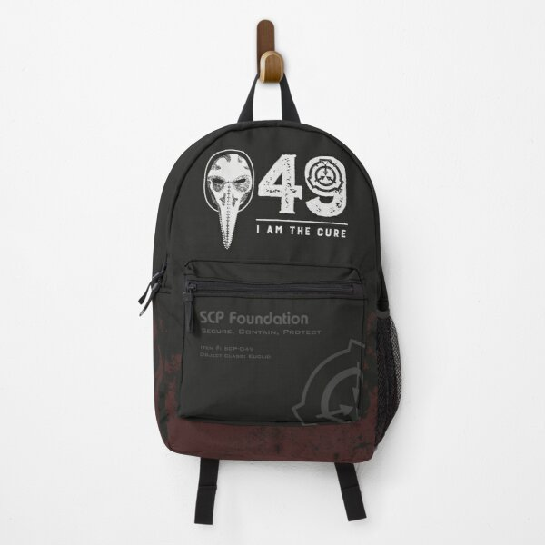 SCP-049 Plague Doctor SCP Foundation - I Am The Cure Backpack