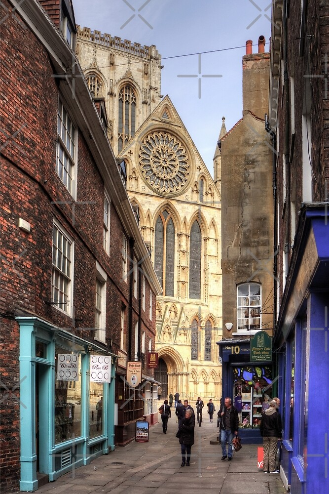 First view of the Minster by Tom Gomez