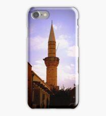 Turkish Minaret in Limassol iPhone Case/Skin