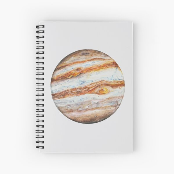 Jupiter Spiral Notebook