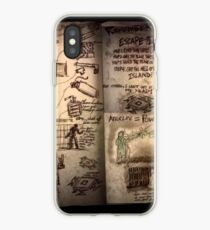 The Weasel's plans book iPhone Case