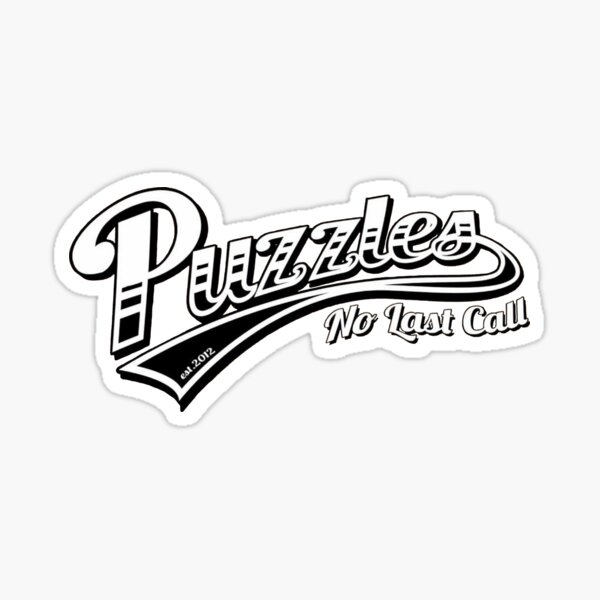 Puzzles Bar - How I Met Your Mother Sticker