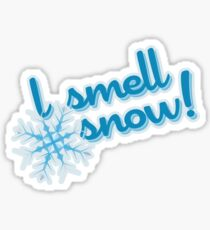 "Gilmore Girls - ""I smell snow!"" Sticker"