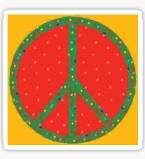 Peace on Earth…in the snow but I can still see the sun! Sticker