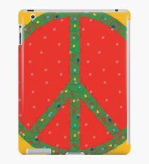 Peace on Earth…in the snow but I can still see the sun! iPad Case/Skin