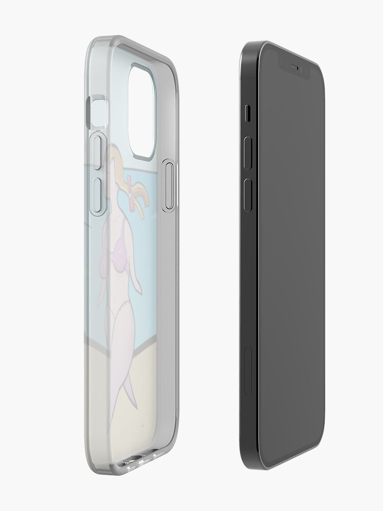 Alternate view of Summer at the Beach iPhone Case