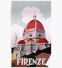 Firenze/Florence, Italy  Poster