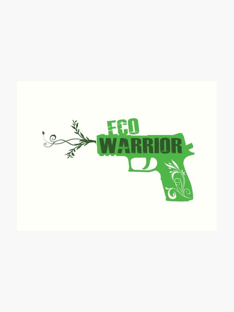 Eco Warrior - CS:GO P250   Art Print