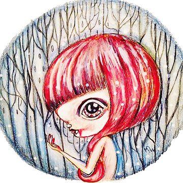 Snowy Vampire by MayaDevi