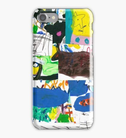 then and now iPhone Case/Skin