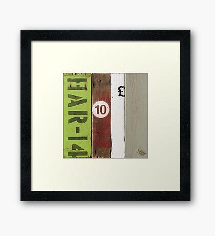 Touch of Green   HAR-14 Framed Print