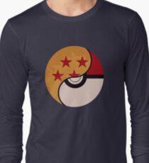Pokemon Dragon Ball Fusion  Long Sleeve T-Shirt