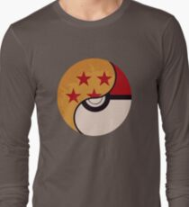 Pokemon Dragon Ball Fusion  Long Sleeve T-Shirt