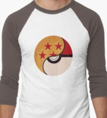 Pokemon Dragon Ball Fusion  Men's Baseball ¾ T-Shirt