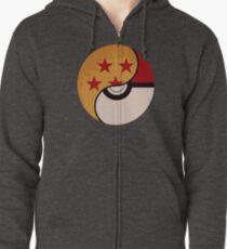 Pokemon Dragon Ball Fusion  Zipped Hoodie