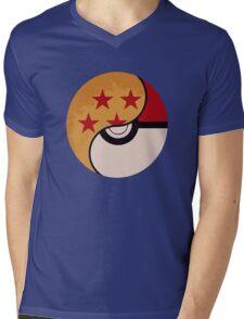 Pokemon Dragon Ball Fusion  Mens V-Neck T-Shirt