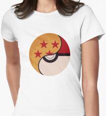 Pokemon Dragon Ball Fusion  Womens Fitted T-Shirt