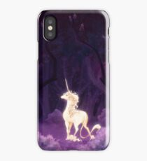 Unicorn in a Lilac Wood iPhone Case