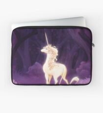 Unicorn in a Lilac Wood Laptop Sleeve