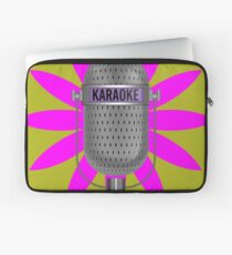 Karaoke Phone Laptop Sleeve