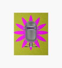 Karaoke Phone Art Board