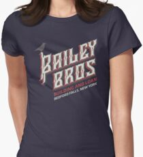 BAILEY BROS BUILDING AND LOAN Women's Fitted T-Shirt