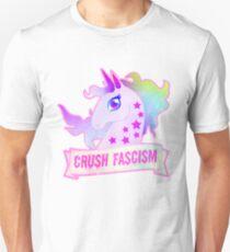 Unicorns against fascism Unisex T-Shirt