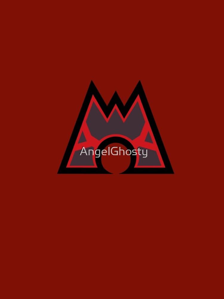 Pokmon Team Magma Symbol Womens Chiffon Top By Angelghosty