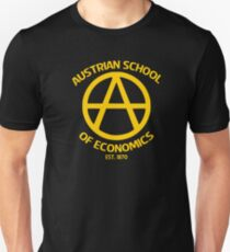 Austrian School Economics Capitalism Libertarian Unisex T-Shirt