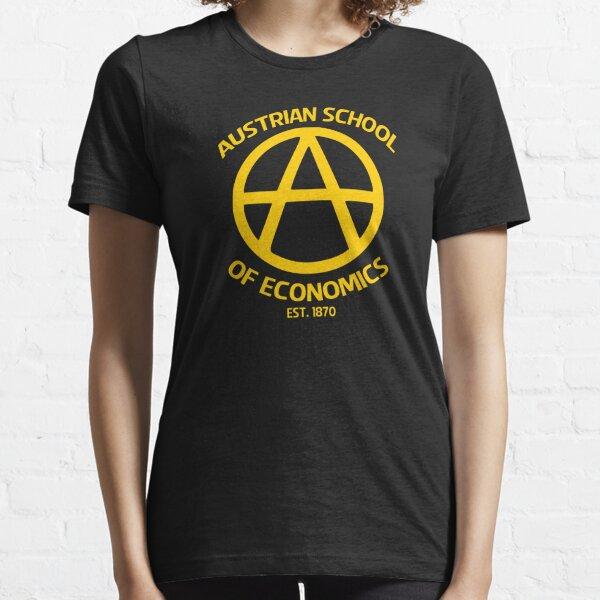 Austrian School Economics Capitalism Libertarian Essential T-Shirt