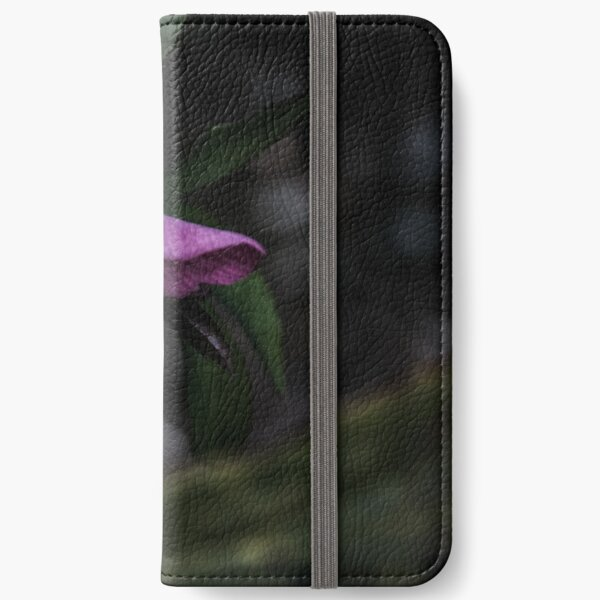 Purple Flower iPhone Wallet