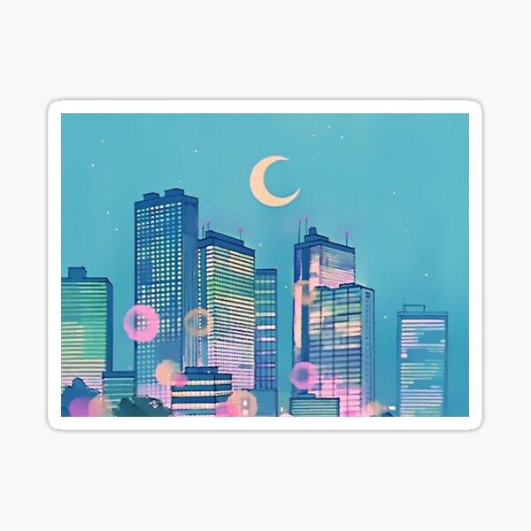 Classic Shoujo skies Sticker