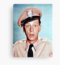 Barney Fife in color Canvas Print