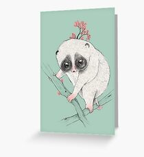 Fat Loris! Greeting Card