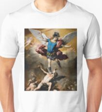 St Michael The Archangel Artwork Unisex T-Shirt