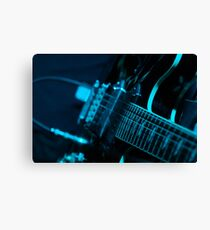 Live Music Band Guitar Canvas Print