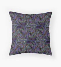 Psychedelic Thumbprint  Throw Pillow