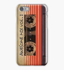 Awesome Mix Vol. 1 iPhone Case/Skin