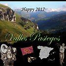 Calendar 2017 Valles Pasiegos by Dulcina