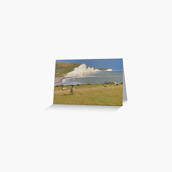 Sheep and the Seven Sisters - HDR Greeting Card