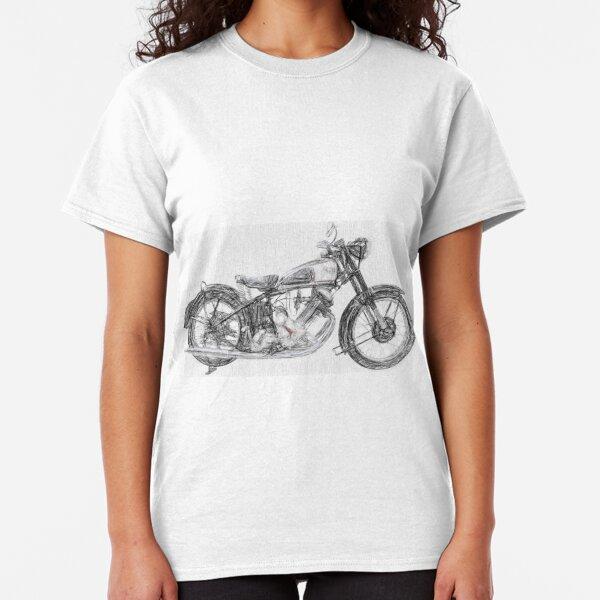 Retro Panther Motorcycles Vintage Biker T Shirt,Indian,BSA,Norton