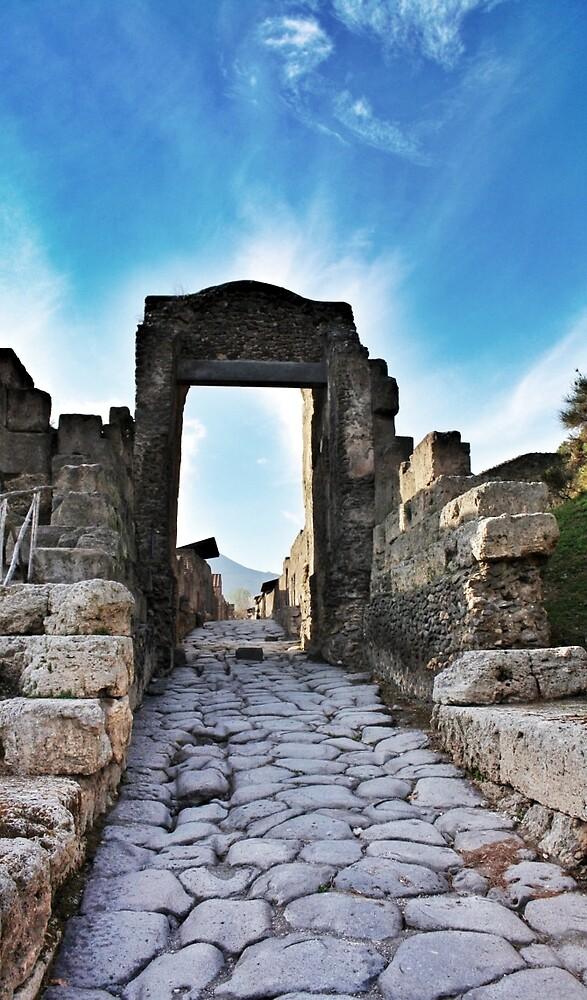 The Gates of Pompei by derek blackham