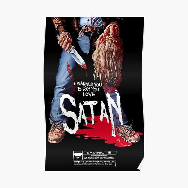 Say You Love Satan 80s Horror Podcast - Maniac Poster